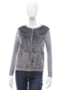 The Kooples Faux Fur Sweater