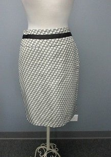 The Limited Circles Side Zip Lined Sms 4162 Skirt black/cream