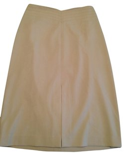 The Limited Pencil Nude Skirt Beige