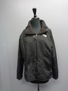 The North Face Zip Up Black Jacket