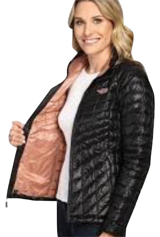 ... ireland the north face the north face womens thermoball full zip jacket  in black rose dawn b429bf34d