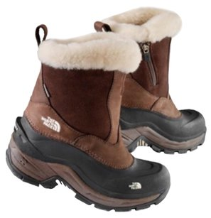 The North Face Brown/Black Boots