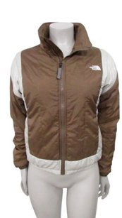 The North Face White Womens Brown Jacket
