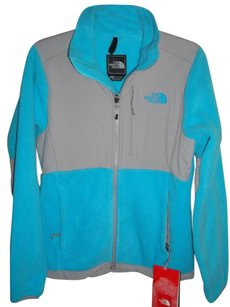 The North Face Turquoise & Gray Jacket