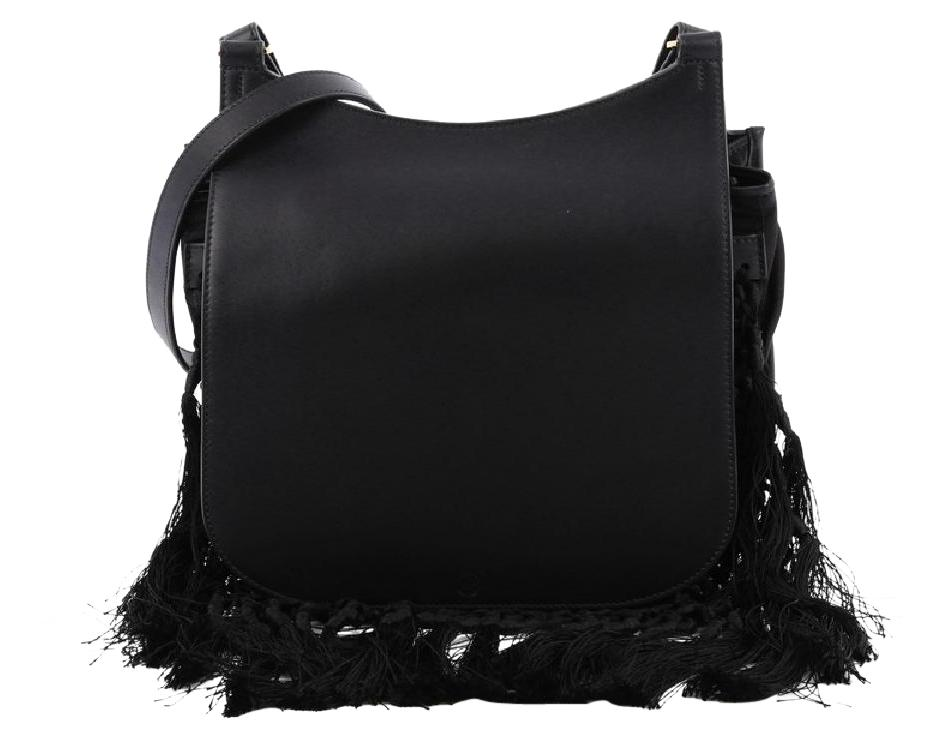The Row Hunting Crossbody Bag Leather With Fringe 11 Cia7qQ