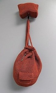 The Sak Textured W Matching Cosmetic Knit B3451 Shoulder Bag