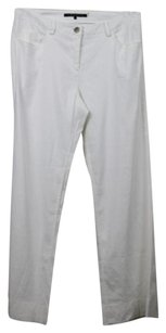 Theory Womens Solid Casual Linen Regular Beach Wear Trousers Pants