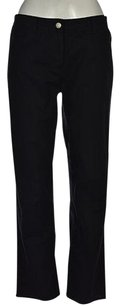 Theory Womens Blend Solid Causal Trousers Pants