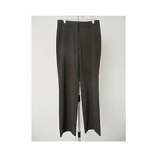 Theory Womens Brown Wool Pants