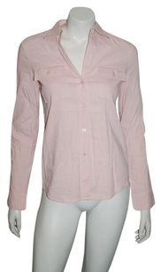 Theory Long Sleeve Top pink