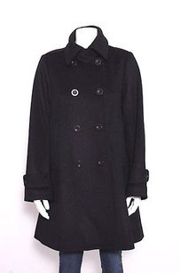 Theory Wool Flannel Pea Coat