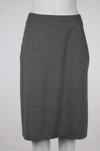 Theory Womens Speckled Skirt Gray