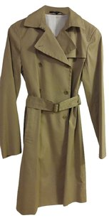 Theory Trench Belted Double Blasted Trench Coat
