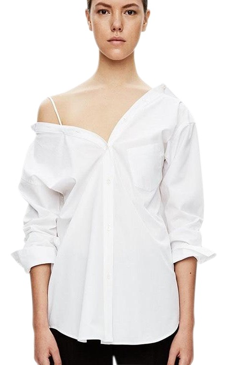 Discount Many Kinds Of Theory off-shoulder flared blouse Amazon Cheap Online fUulIU