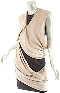 Taupe/Black Maxi Dress by Thierry Mugler Blacktaupe