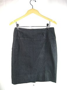 Think Tank Dark Stretch Skirt Denim