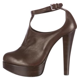 Thomas Wylde Boots Brown Platforms