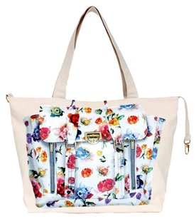 Thursday Friday Thursday Friday Zippy Something Bag, Watercolor Floral