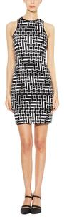 Tibi short dress Black and White on Tradesy