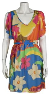 Tibi Womens Floral Dress