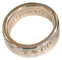 Tiffany & Co. 1837 silver narrow ring