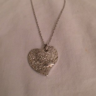 Tiffany & Co. 925 Silver Notes Double Heart Pendant Tiffany & Co.