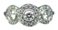 Tiffany & Co. Authentic Tiffany & Co. Diamond and Platinum Diamond Circlet Ring