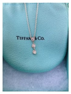 Tiffany & Co. GET $75 OFF NOW!! USE CODE SAVE75 AT CHECKOUT! WOW!!! DON'T MISS OUT ON THIS GREAT DEAL!!! Tiffany & Co Diamond By The Yard Drop Pendant. BRAND NEW!!! GORGEOUS!! FREE SHIPPING!!