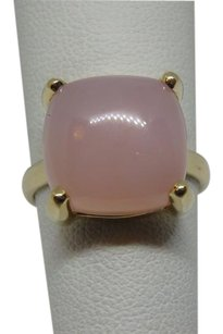 Tiffany & Co. Paloma Picasso 8.00ct Rose Quartz Sugar Stack 18k ring