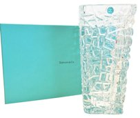 Tiffany & Co. Sierra Square Vase [ Roxanne Anjou Closet ]