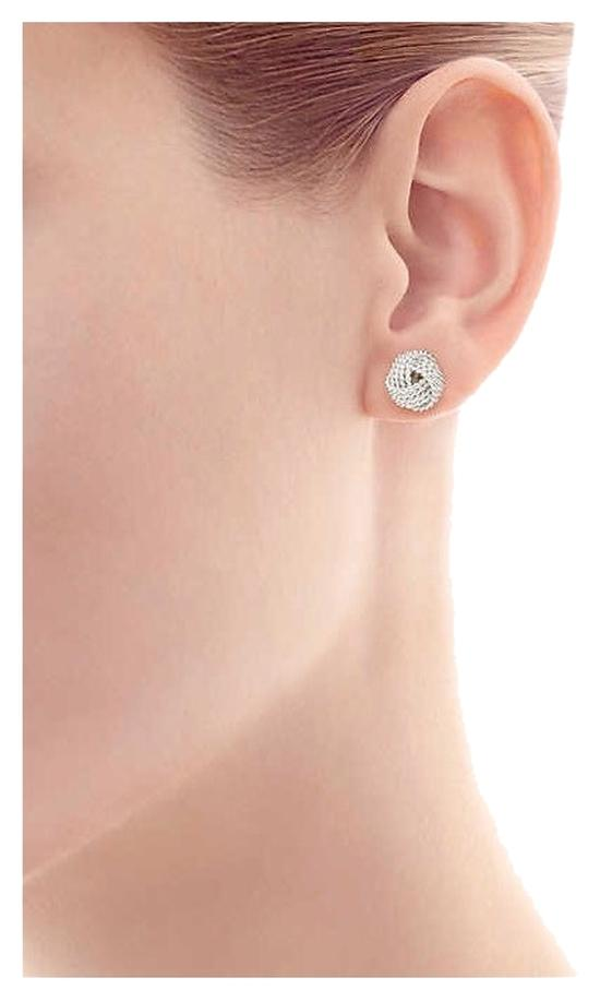 Tiffany Co Silver Knot Earrings Review