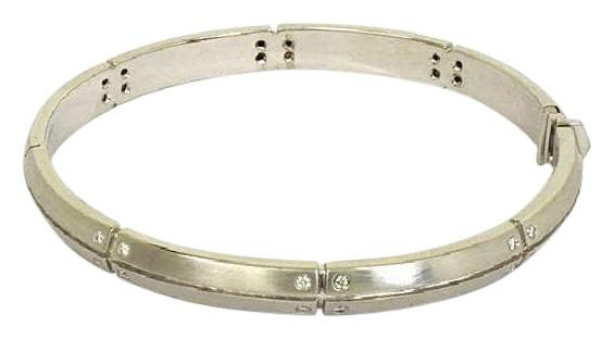 Tiffany & Co White Gold Streamerica Diamonds Bangle Bracelet