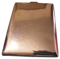 Tiffany & Co. TIFFANY & CO Art Deco Era Sterling Silver Cigarette Case / Cash Wallet Large~Vintage 1920's
