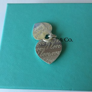 Tiffany & Co. Tiffany & Co 'Let Me Count The Ways I Love You' Heart Silver Charms