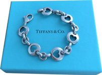 Tiffany & Co. Tiffany & Co. Stencil Heart Bracelet in 925 Sterling Silver