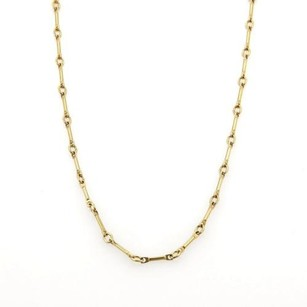 Tiffany & Co. Tiffany Co. 18k Yellow Gold Fancy Long Link Chain Necklace 18 Long