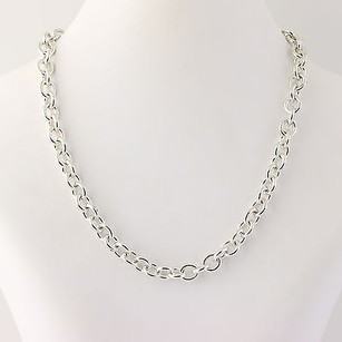 Tiffany & Co. Tiffany Co. Cable Chain Necklace 15- Sterling Silver Please Return To Heart