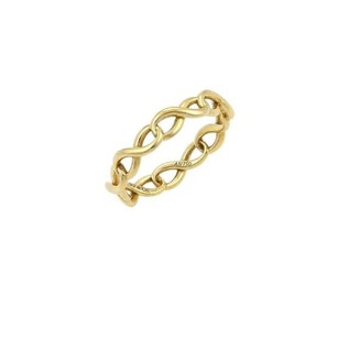 Tiffany & Co. Tiffany Co. Continuous Infinity Narrow Band Ring In 18k Yellow Gold -