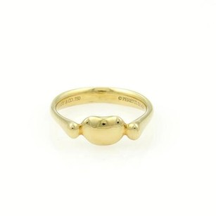 Tiffany & Co. Tiffany Co. Elsa Peretti 18k Yellow Gold Mini Bean Ring