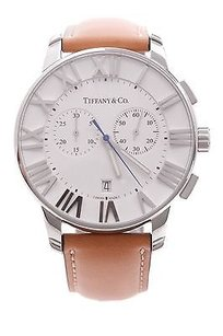 Tiffany & Co. Tiffany Co. Stainless Steel 42mm Atlas Chronograph Watch