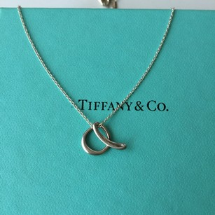 Tiffany & Co. Tiffany Elsa Peretti Silver A Alphabet Necklace