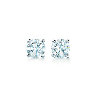 Tiffany & Co. Tiffany Solitaire Diamond Earrings