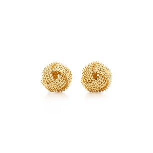 Tiffany & Co. Tiffany Twist Knot Earrings 18k Gold