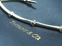 Tiffany & Co. Tiffany,Co,Platinum,Diamond,Bezel,8-station,Bracelet,.80ct,7,Pt950