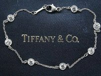 Tiffany & Co. Tiffany,Co,Platinum,Elsa,Peretti,Diamond,By,The,Yard,Bracelet,.98ct