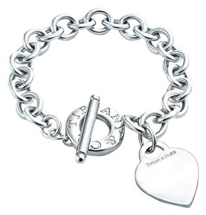 Tiffany & Co. Toggle Bracelet With Heart Charm