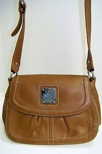 Tignanello Tignananello Tan Tumbled Hobo Bag