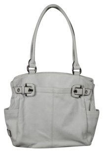 Tignanello Womens Satchel in White