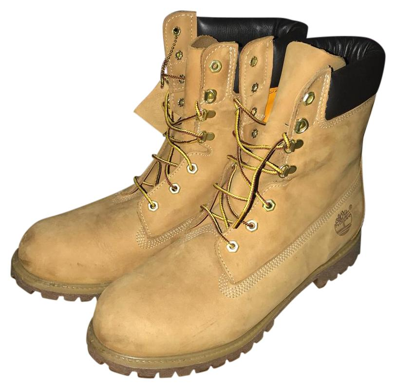 timberland 8in classic wheat boot