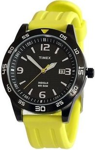 Timex Timex Classic Yellow Rubber Mens Watch T2p136